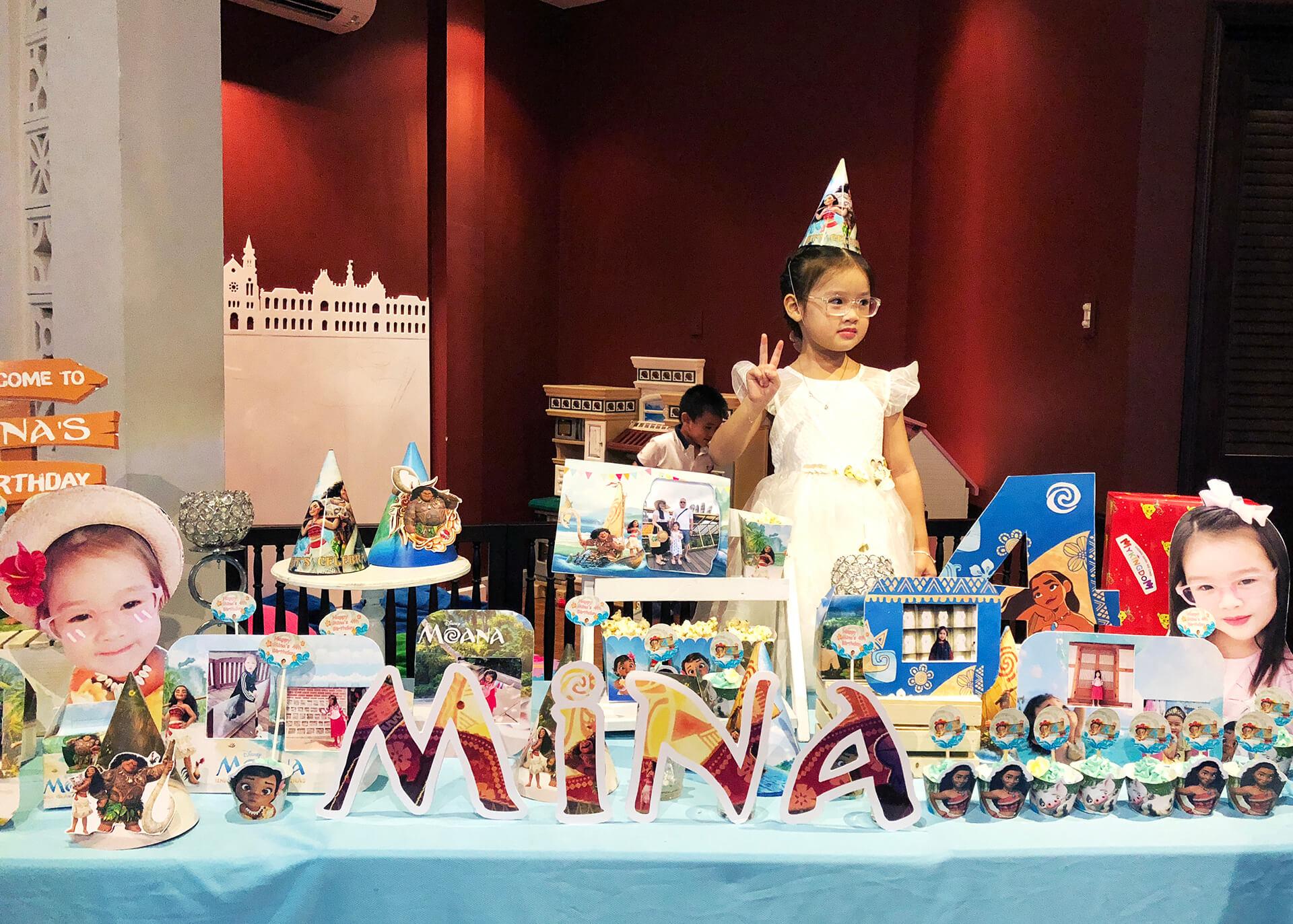 Tổ chức sin Sinh nhật cho bé