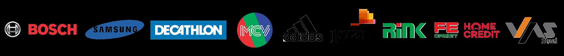 Logo các thương hiệu liên kết