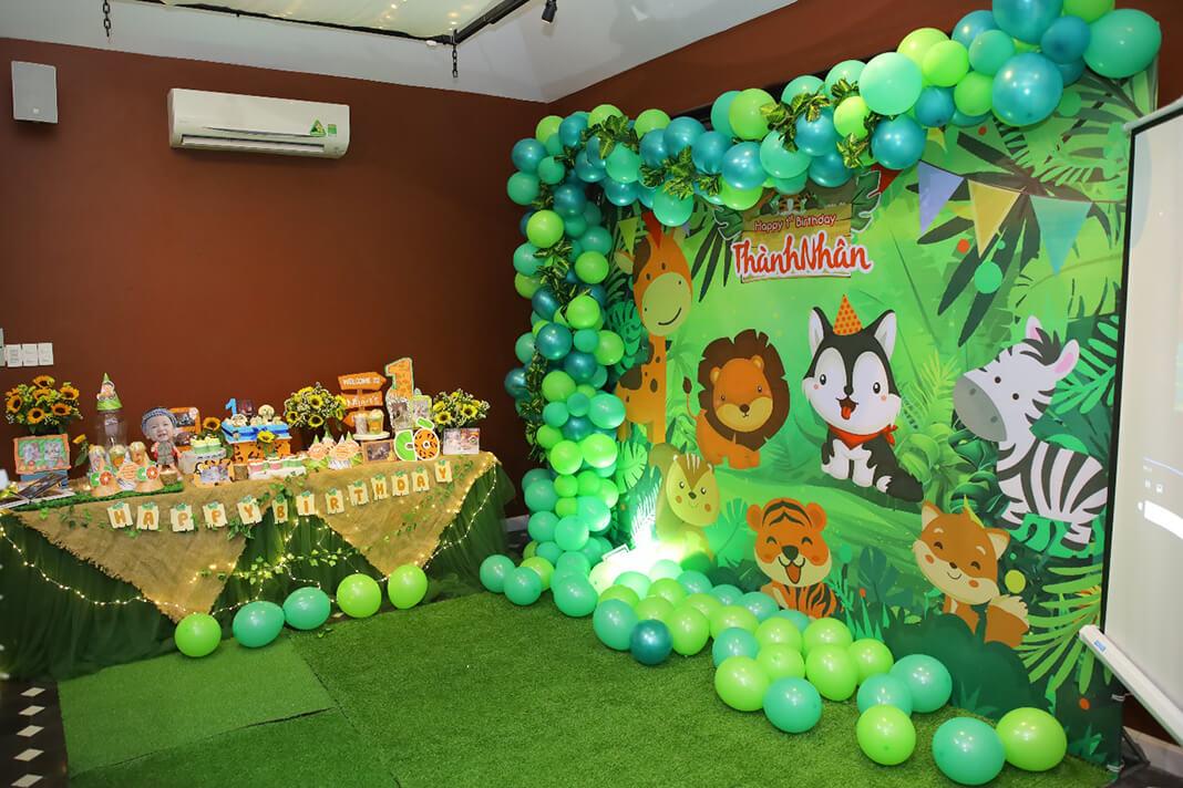 Khu vực tổ chức sinh nhật