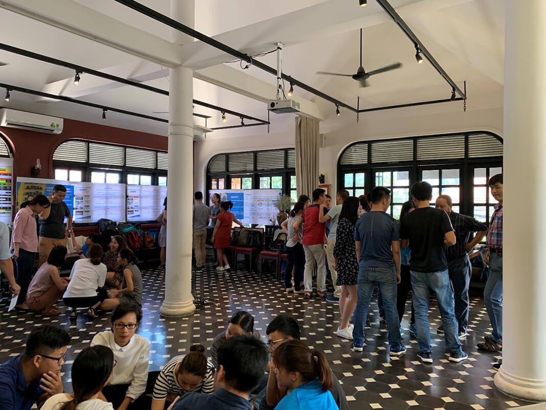 Tổ chức họp workshop