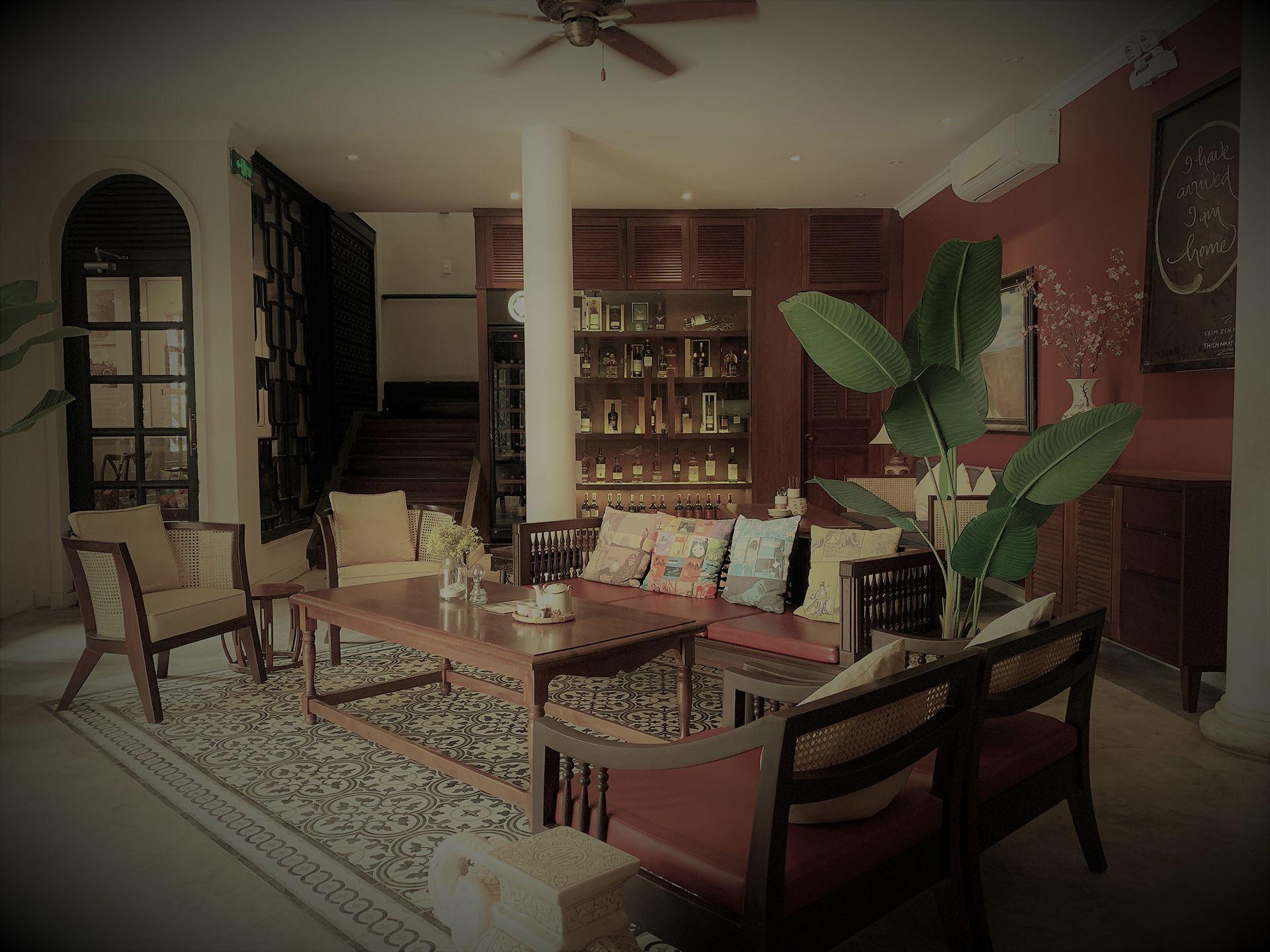Lounge tại nhà hàng
