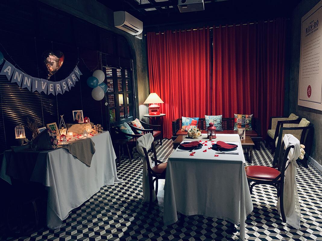Nhà hàng có phòng riêng tại TPHCM