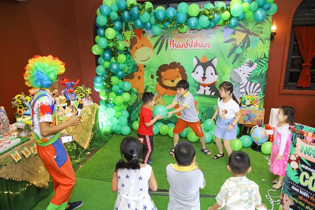 Không gian tổ chức tiệc sinh nhật cho bé