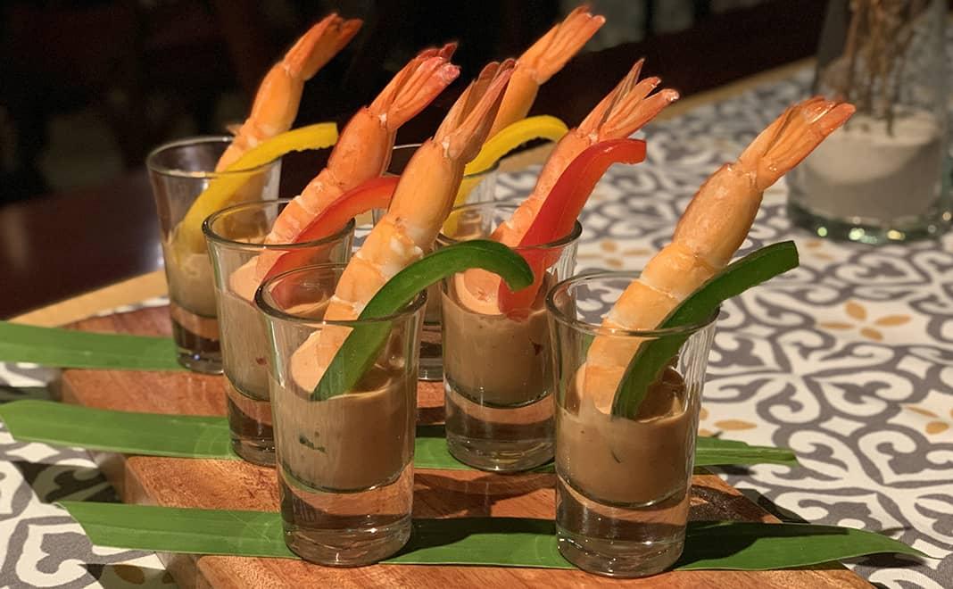 tôm sốt cocktail