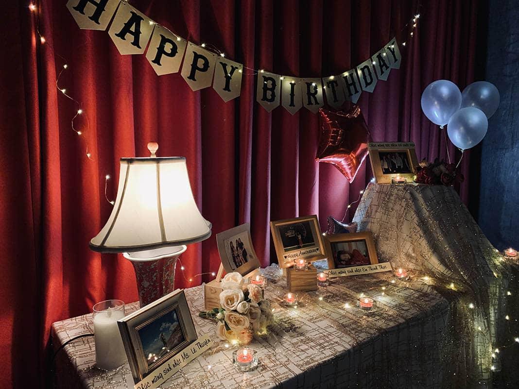 Trang trí tổ chức sinh nhật