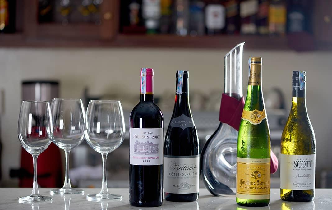 Các loại rượu vang